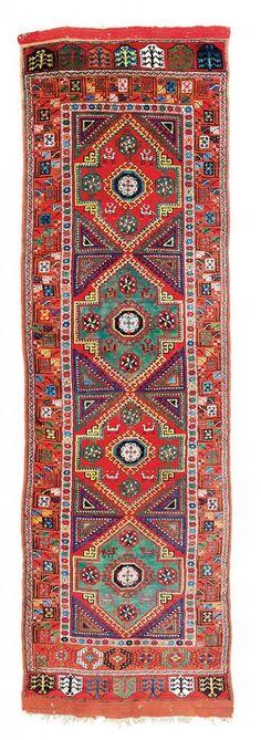 Konya 12ft. 11in. x 4ft. 394 x 123 cm Turkey first half 19th century