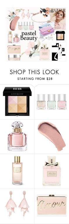 """Beauty Pastel"" by nomination ❤ liked on Polyvore featuring beauty, Givenchy, Nails Inc., Guerlain, Burberry, Estée Lauder, Christian Dior, Oscar de la Renta, BCBGMAXAZRIA and RMK"