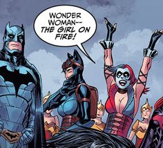 """""""Harley Quinn + The Hunger Games references Injustice: GAU Year 4 """""""