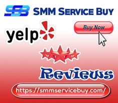 Buy Yelp Reviews 100% Satisfaction Guaranteed  Full Completed Profiles  High-Quality Service  Custom time Delivery  Express Delivery  Instant Work Start  100% Replacement Guarantee ( if Our Any Reviews Dropped)  No money back Guarantee   Order Exchange possible if you want ( Yelp to Google, Facebook, etc ) Contact us Email: smmservicebuy@gmail.com   Skype: live:smmservicebuy    Business Hours: 24 X 7 Buy Instagram Followers, Google Facebook, Website Ranking, Online Reviews, Facebook Likes, No Me Importa, Decir No, Drop, Stuff To Buy