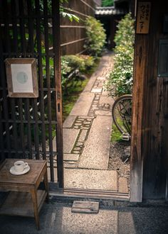 CAFE&BAR Entrance ????(magoemon) KYOTO,JAPAN (Garden Step Pavers)