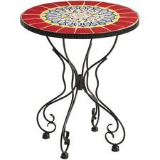 Rania Accent Table - Red