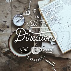 Coffee is all the direction that I need today ☕- Mr. Timms.