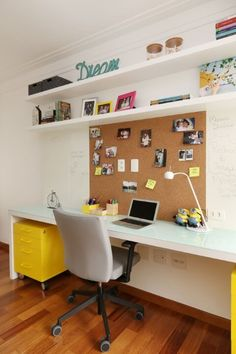 Impressive Diy Home Office Table Ideas For Create Comfortable Home Office Table, Home Office Design, Home Office Furniture, Home Office Decor, Furniture Design, Study Room Decor, Bedroom Decor, Study Table Designs, Kids Study Table Ideas
