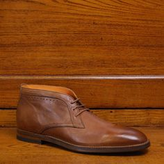 7354c90dd0d Chesterfield Scotch Tuscan Calf - The classic gentleman s dress boot has  been refined and updated by Martin Dingman.