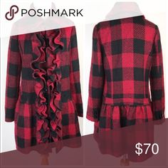 Anthropologie coat Bought off Poshmark just too small Anthropologie Jackets & Coats Pea Coats
