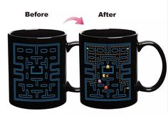 The reusable coffee mugs, sale mugs and same day custom mugs provided by lifegreen are rich variety. The well-designed wholesale-pacman game ceramic mug color changing cup heat sensitive espresso tea milk mug creative cup gift cup free shipping makes you feel better when you drink.