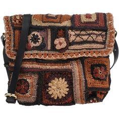 Jamin Puech Under-Arm Bags ($210) found on Polyvore featuring bags, handbags, shoulder bags, camel, leather handbags, leather messenger purse, leather shoulder handbags, genuine leather handbags and camel leather handbag