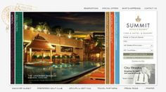This collection demonstrates how hotel websites can incorporate beautiful design and target their audience in the right way. Best Hotel Website, Hotel Website Design, Travel Website Design, Layout, Beautiful Hotels, Find Hotels, City Break, Bangkok, The Incredibles