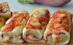 Rotolini di pancarrè alla parmigiana ricetta facile