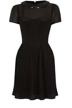 Western pleat dress
