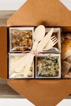 Thanksgiving Dinner Tips + Leftovers Station Ideas :: The TomKat Studio for HGTV