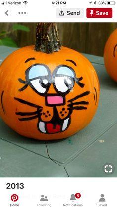 Halloween Wood Crafts, Halloween Projects, Easy Halloween, Fall Crafts, Halloween Decorations, Crafts For Kids, Cat Pumpkin, Pumpkin Faces, Pumpkin Carving