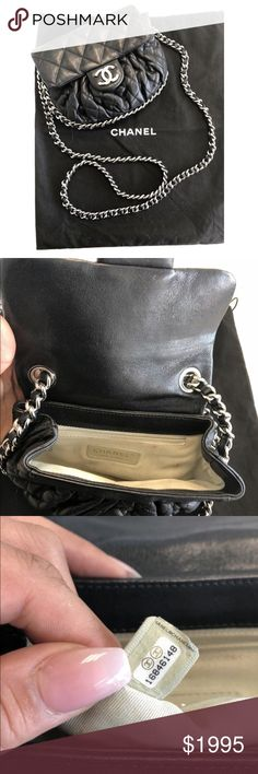 Authentic all around chanel crossbody Bag Authentic ! Posh will  authenticate as well ! Minor dirt 0090ff18e1