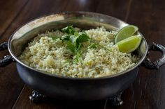 Cilantro Lime Rice just like Cafe Rio ohsweetbasil.com_