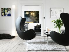 Arne Jacobsen Egg Chair -