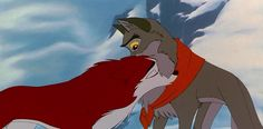 You may remember Balto as a heartwarming cartoon about a heroic wolf-dog. In reality, it is the story of how one dog saved many children from death because he wanted to bone a lady dog. Disney Kunst, Disney Art, Disney Movies, Walt Disney, Balto And Jenna, Cartoon Art Styles, Wolf Love, Fandom, Anime Animals