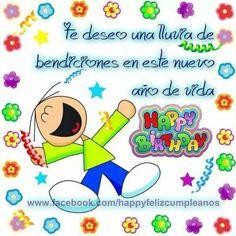 Dedicatorias especial de Feliz cumpleaños para enviar a tu Amor Happy Birthday Boy, Happy Birthday Quotes, Good Day Quotes, Quote Of The Day, Haha Funny, Funny Quotes, Lettering, Motivation, Club