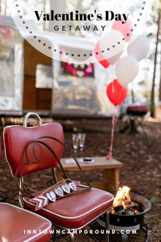 Why not celebrate Valentine's Day at the campground? The Inn Town Campground is open year round, perfect excuse to celebrate the day outside. Photo by Romantic Camping, Hiking Club, Mardi Gras Parade, City Events, Fairy Crafts, Nevada City, Camping Glamping, Winter Camping, Valentines Day