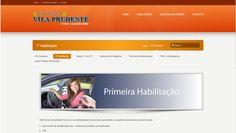 Página de Primeira Habilitação da Auto Escola Vila Prudente - Guarulhos