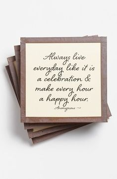 make every hour a happy hour.