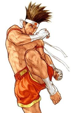 View an image titled 'Joe Higashi Art' in our Capcom vs. SNK 2 art gallery featuring official character designs, concept art, and promo pictures. Game Character Design, Character Art, Capcom Vs Snk, Snk King Of Fighters, Art Of Fighting, Fighting Games, Street Fighter Characters, Mystique, Drawing Poses