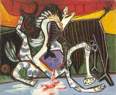 "Pablo Picasso - ""Bullfight (Corrida)"". 1923"