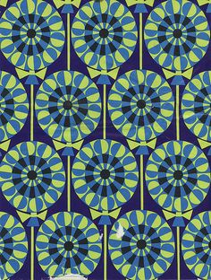 Vintage Wrapping Paper - Circles