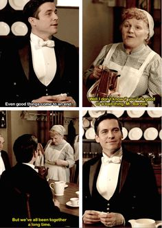 Thomas Barrow and Mrs. Patmore   Downton Abbey Season 6