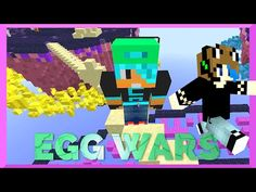 MINECRAFT CUBE CRAFT EGG WARS | GAMER CHAD | What Time Is It? - YouTube