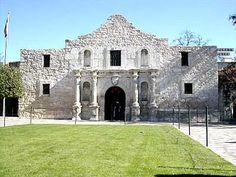 Texas - the Alamo!