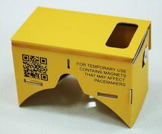 Uw klant plaatst zijn/haar telefoon in de Google Cardboard voor een virtual reality beleving. Kijk voor inspiratie op www.limegifts.nl