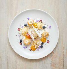 The French Cafe's Deconstructed Lemon Meringue Pie