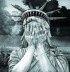 Lady Liberty and I cannot watch as our liberties are eroded by those who wage war on women, children, the elderly, the poor.... well, everyone but rich white men.