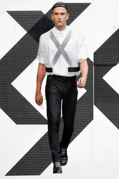 Givenchy SS15 in GIFs! Paris menswear. More GIFs here: http://www.dazeddigital.com/fashion/article/20588/1/paris-ss15-gifs