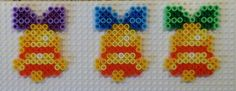 Christmas bells hama perler beads by Pia Petrea