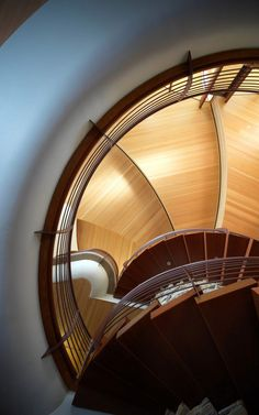 Chenequa Residence 13 Hypnotizing Curving Lines And Intensive Use Of  Organic Materials: Chenequa Residence Wooden