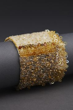 Golden Haze Couture Cuff – ANDREA GUTIERREZ JEWELRY