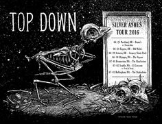 Image of »Top Down« Gig-Poster