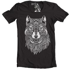 ee879f88 Items similar to Tribal Wolf T-Shirt, Tees for Guys, Sizes S - 3XL on Etsy