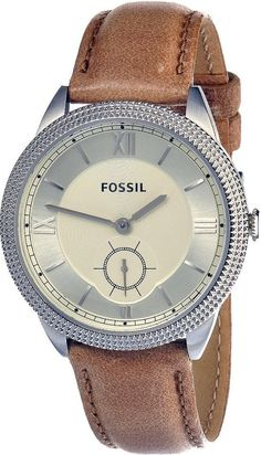 Fossil Women's ES3066 Sydney Light Brown Leather Strap Watch