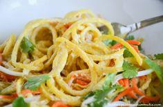 Raw Vegan   The Best No Noodle Pad Thai