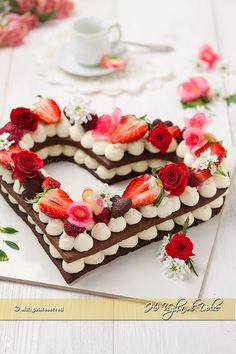 Cream tart a cuore ricetta   Ho Voglia di Dolce