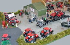 Toytrac - Home Toy Display, Farm Toys, Farms, Townhouse, Scale, Home, Miniatures, Weighing Scale, Homesteads