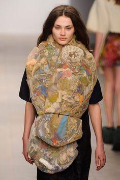 Plastic clothing