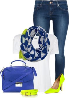 """Neon"" by chelseagirlfashion on Polyvore"