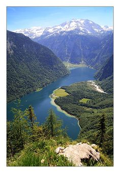 How can anyone see this and not know there is a God? Pictures don't do this place justice. Königssee - Berchtesgaden, Bayern