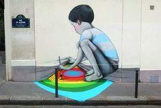 Paint the Rainbow: New Street Art by Seth