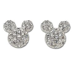 Swarovski Mickey Earrings! Have em, love em! Can't wait to wear em on Friday!!!