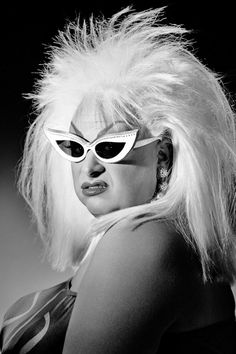 DIVINE (1945-1988) * AFI Top Actor nominee. Active 1968-88 > Born Harris Glenn Milstead 19  Oct 1945 Maryland > Died 7 Mar 1988 (aged 42) California, enlarged heart > Other: Drag Queen, Singer. Notable Films: Pink Flamingos (1972);  Polyester (1981); Hairspray (1988); Lust in the Dust (1985); Trouble in Mind (1985)